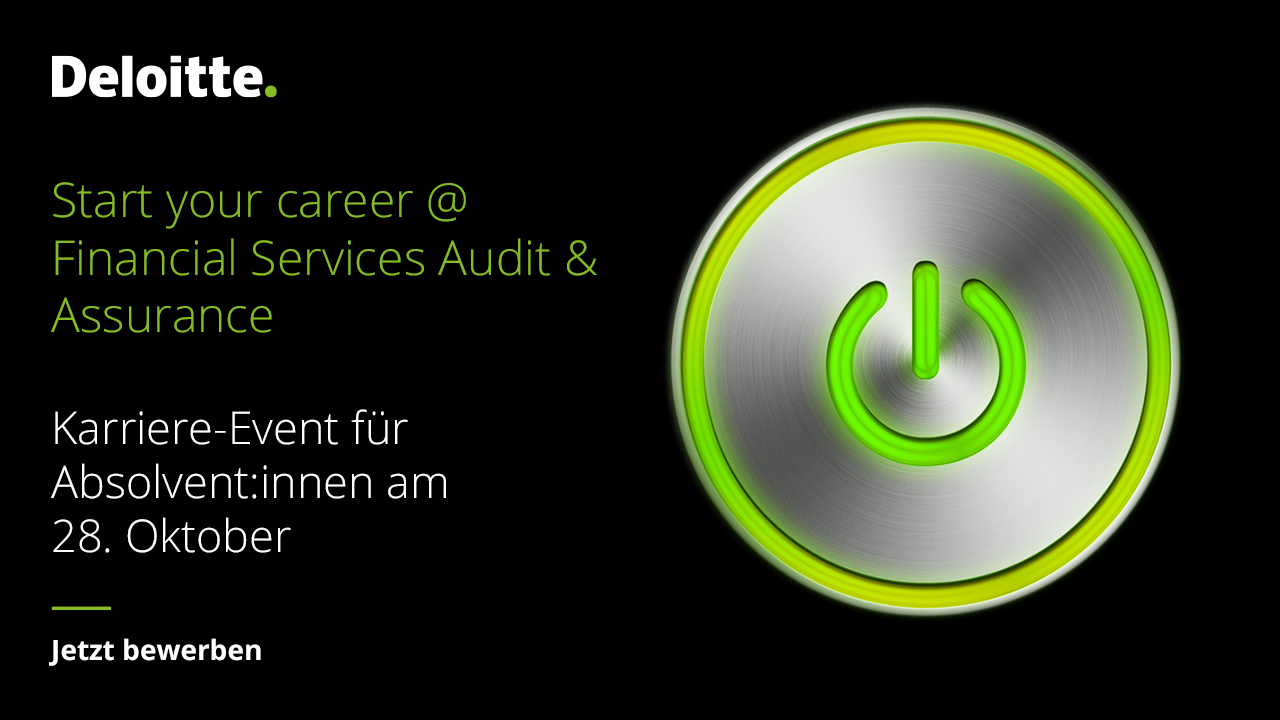 Start your career @ Financial Services Audit & Assurance