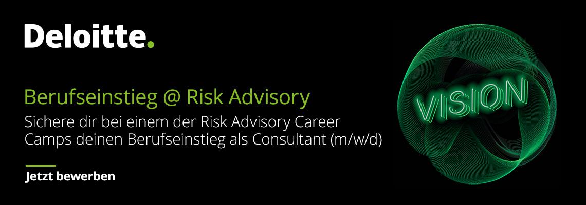 Risk Advisory Career Camp: Regulatory, Risk, Compliance & Financial Crime