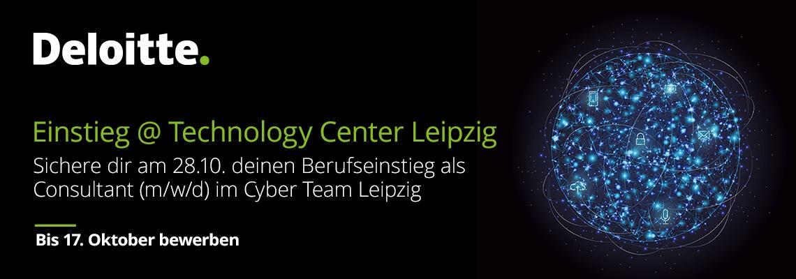 Dein Berufseinstieg im Cyber Team Leipzig